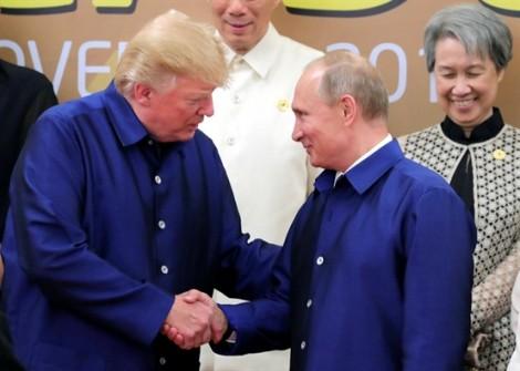 Tổng thống Putin ngợi khen Tổng thống Trump tại APEC 2017