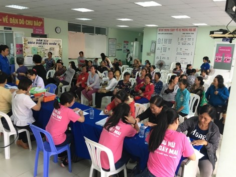 Nhà Bè: tầm soát ung thư vú cho 250 hội viên phụ nữ
