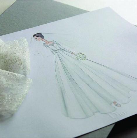 Váy cưới Dior 3 tỷ đồng của Song Hye Kyo được tạo ra như thế nào?