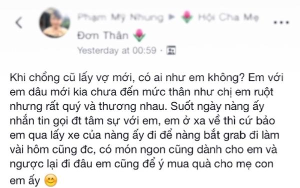 Lam ban voi vo moi cua chong cu – chang co gi la khong the