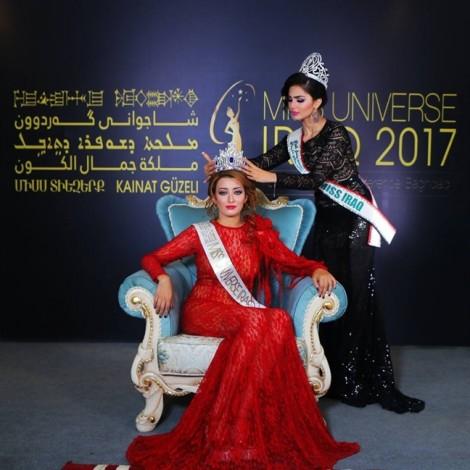 Hoa hậu Hoàn vũ Iraq bị người dân đòi khép vào 'tội phạm chiến tranh' vì chụp hình chung với hoa hậu Israel