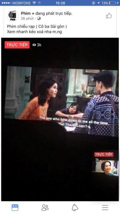Ngô Thanh Vân quyết xử lý thật nặng người livestream trái phép phim 'Cô Ba Sài Gòn'