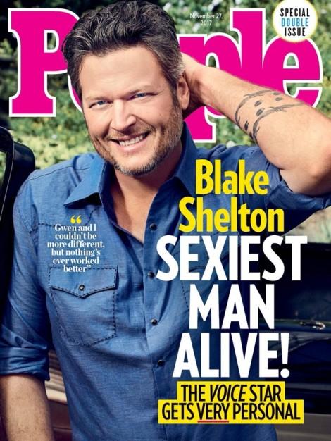 Blake Shelton - Người đàn ông quyến rũ nhất hành tinh năm 2017