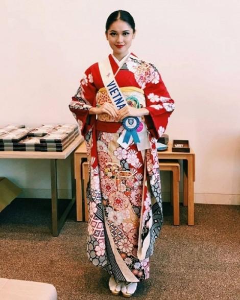 Á hậu Thuỳ Dung không tham gia bất cứ cuộc thi nhan sắc nào sau Miss International 2017