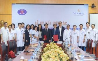 Bệnh viện K và bệnh viện Vinmec hợp tác nghiên cứu, chuyển giao kỹ thuật điều trị ung thư