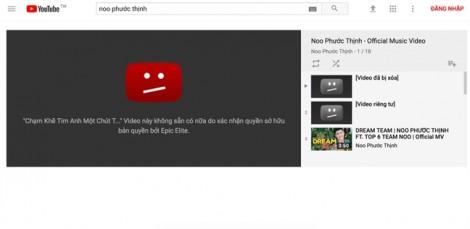 MV 30 triệu view của Noo Phước Thịnh bị xóa: Bài học khi bơi ra biển lớn