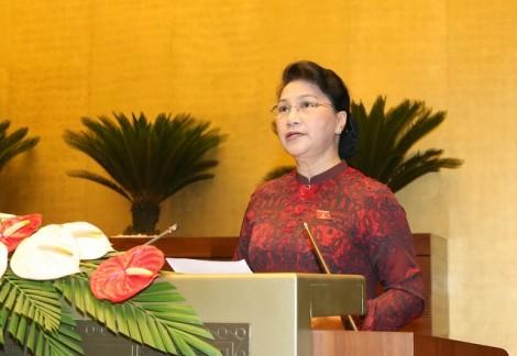 Chủ tịch Quốc hội: Một số nội dung được QH chất vấn, giám sát nhưng chuyển biến chậm