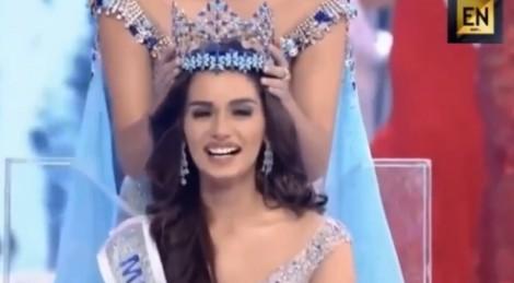 Cận cảnh nhan sắc tân Hoa hậu Thế giới 2017 Manushi Chhillar
