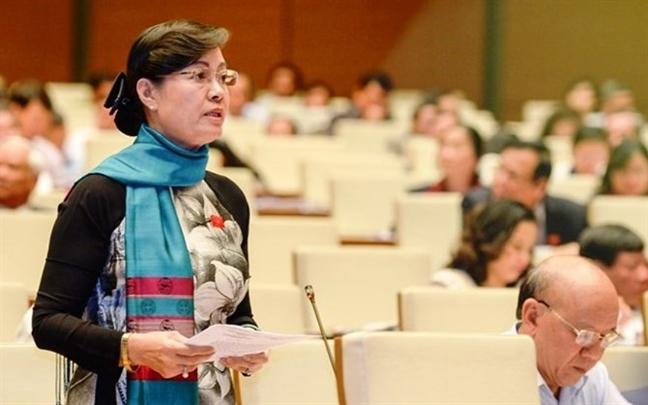 Ba Nguyen Thi Quyet Tam: Do 'venh' phap luat trong co che dac thu la can thiet.