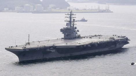 Máy bay Mỹ chở 11 người rơi ngoài khơi Okinawa