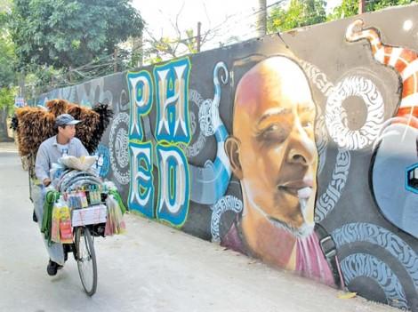 Có một phương Đông e ấp trong Graffiti phương Tây
