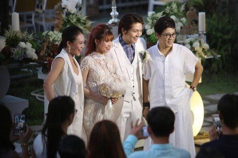 Những khoảnh khắc 'siêu lầy' trong tiệc cưới Khởi My và Kelvin Khánh