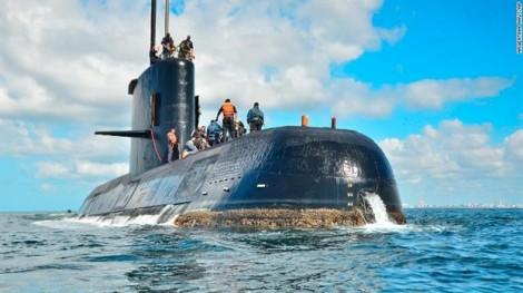 Nghe thấy tiếng nổ gần nơi tàu ngầm Argentina mất tích