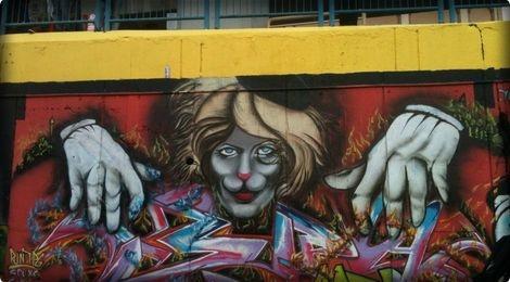Lan theo dau chan cua 'ke pha hoai' graffiti