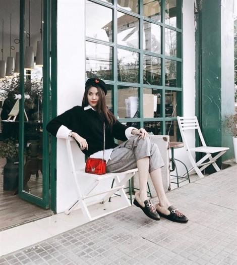 Diện áo len đẹp như street style của mỹ nhân Việt