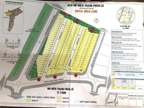 Rao bán hàng trăm lô đất... quy hoạch cây xanh