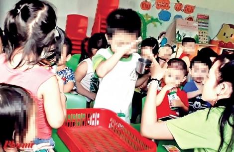 Xem clip trẻ em bị bạo hành ở cơ sở mẫu giáo Mầm Xanh