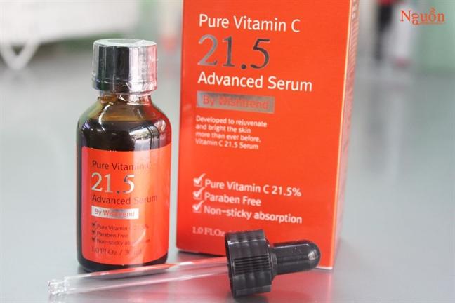Cach su dung vitamin C dung, tranh gay hai trong lam dep