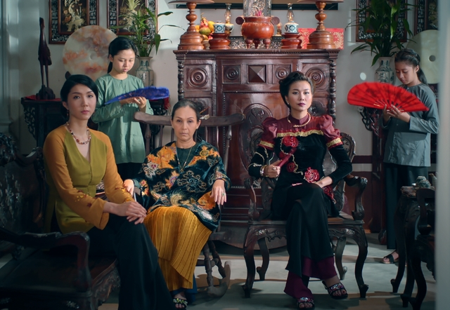 Phim 'Me chong': Mot minh Thanh Hang 'can' ca phim