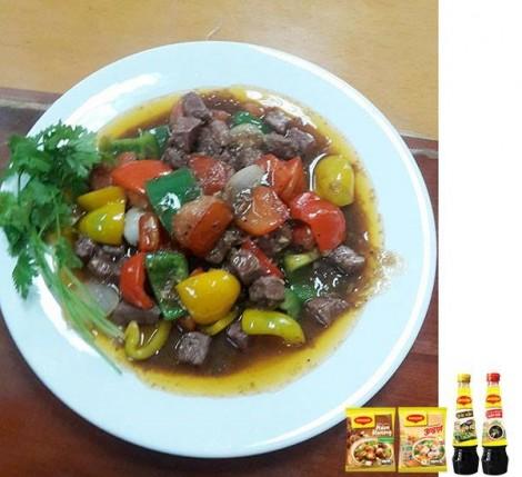 Bài tham gia cuộc thi nấu ăn chủ đề 'Bếp ấm - Nhà vui' - Tuần 7