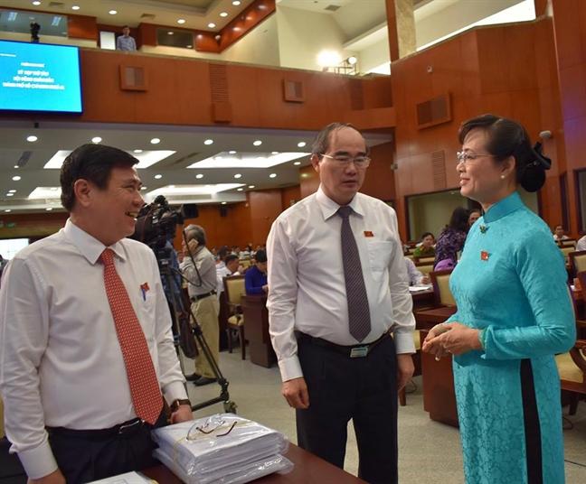 Bi thu Nguyen Thien Nhan: Giam sat van de den bu o Thu Thiem, Khu cong nghe cao
