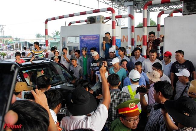 Phó chủ tịch tỉnh Tièn Giang: Tình trạng BOT Cai Lạy là khong luòng truóc duọc
