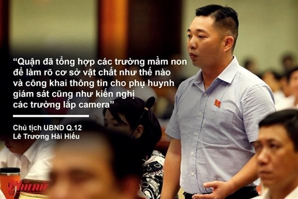 Nhũng phát ngon án tuọng tại phien chát ván HDND vè tình trạng bạo hành trẻ em