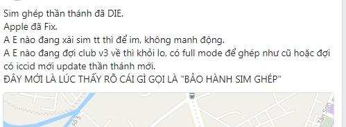 SIM ghep moi mua gia hon 200.000 dong, xai nua thang bat ngo bi Apple khoa