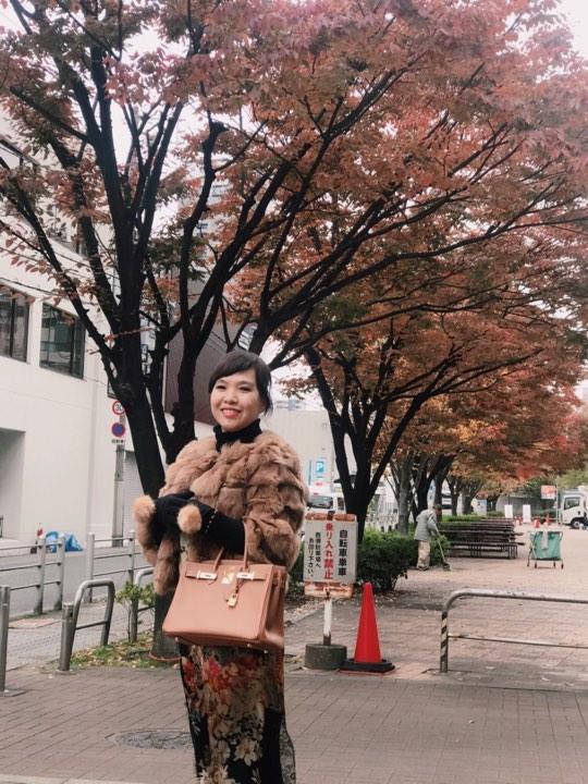 Ky uc ve mua thu Osaka Nhat Ban
