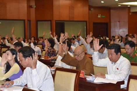 HĐND thông qua Nghị quyết thí điểm cơ chế, chính sách đặc thù phát triển TP.HCM