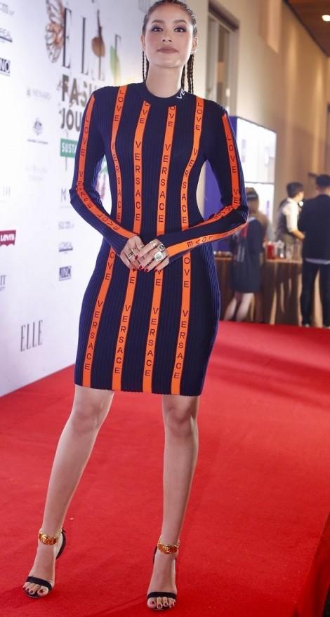 Mỹ nhân Việt mặc đẹp nổi bật tại thảm đỏ Elle Fashion Journey 2017