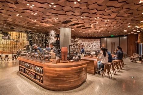 Starbucks bắt tay Alibaba mở cửa hàng tương tác lớn nhất thế giới