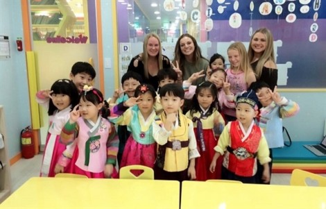 Hàn Quốc nói 'không' với trường mẫu giáo dạy tiếng Anh