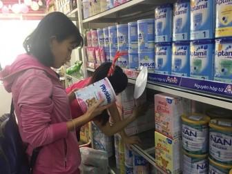 Thị trường đóng băng sữa nhiễm khuẩn
