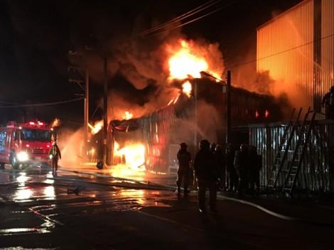 Điều tra nguyên nhân cháy xưởng ở Đài Loan khiến 6 người Việt tử vong