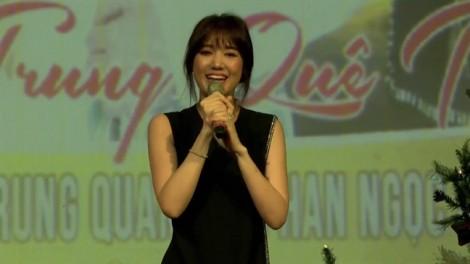 Hari Won hát hụt hơi trong đêm nhạc từ thiện, phải xin lỗi khán giả