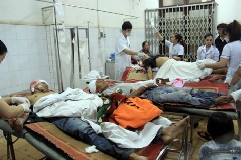 Hiện trường vụ hỗn chiến do tranh chấp đất khiến 7 người thương vong