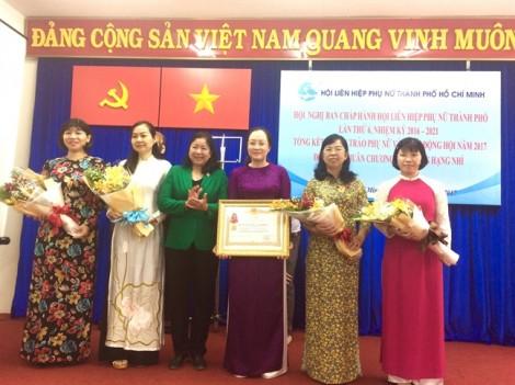 Bà Trần Thị Huyền Thanh giữ chức Phó chủ tịch Hội LHPN TP.HCM