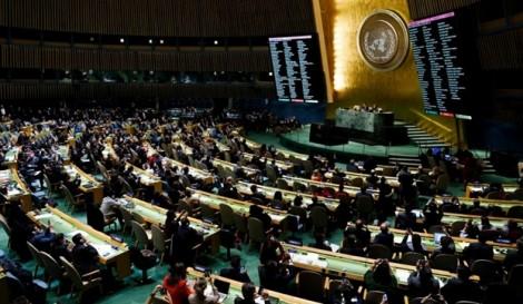 Hơn 120 quốc gia bỏ phiếu lên án quyết định về Jerusalem