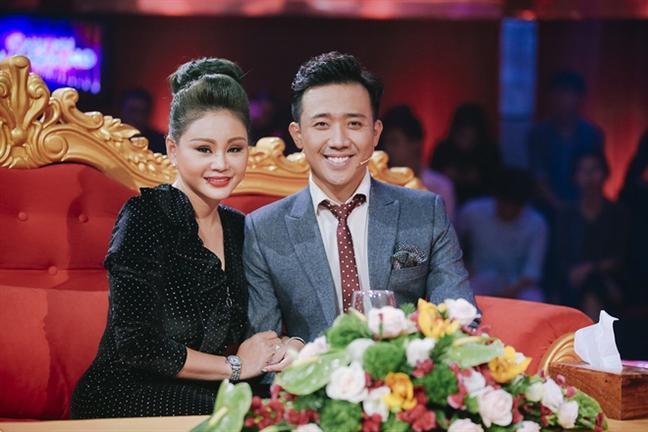 Sau on ao talkshow doi tu, Tran Thanh moi Le Giang dong hai do anh san xuat