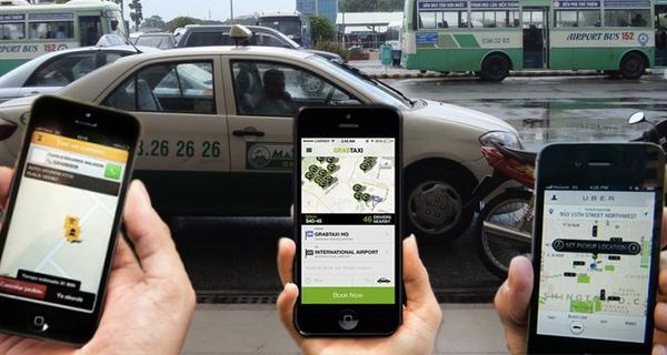 Taxi truyen thong tiep tuc 'keu cuu' len Bo, Vinasun khang dinh kien Uber, Grab den cung