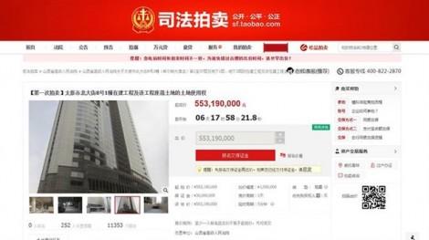 Trung Quốc: Bán đấu giá cả tòa nhà chọc trời 84 triệu USD trên Taobao