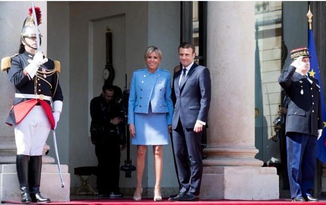 De nhat phu nhan Macron: Nguon cam hung quyen ru cua phu nu Phap