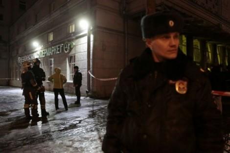 Hiện trường vụ nổ bom tự chế tại siêu thị ở Nga khiến 10 người bị thương