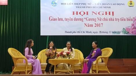Tuyên dương 16 nữ chủ nhà trọ tiêu biểu năm 2017