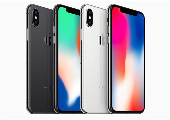 iPhone X giua 'muon trung vay' tin don thi truong