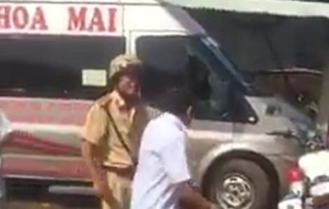 Điều tra vụ việc tài xế tố CSGT Đồng Nai đập vỡ cửa kính xe khách