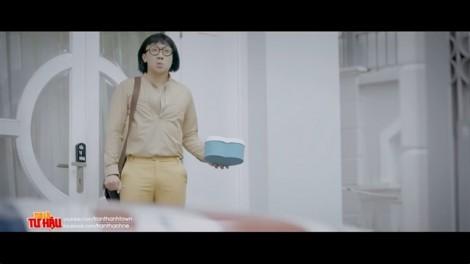Quảng cáo tràn ngập trong sản phẩm hài của Trấn Thành