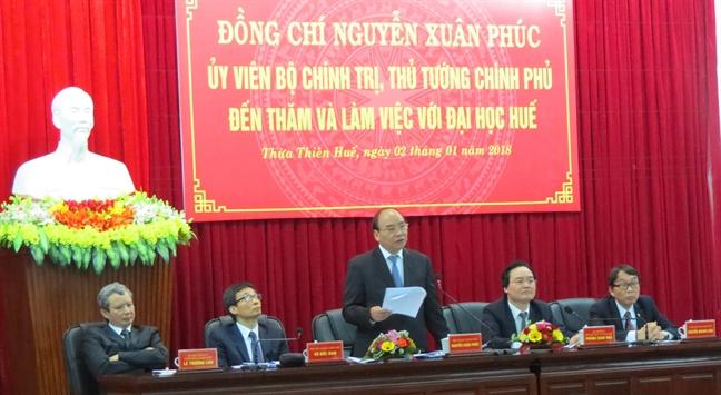 Kien nghi Chinh phu tim nguon von ODA khoang 100 trieu USD de phat trien DH Hue
