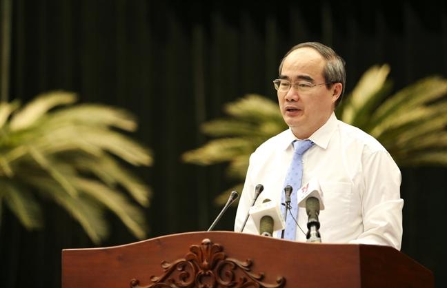 Bi thu Nguyen Thien Nhan: 10 nhiẹm vụ TP.HCM càn triẻn khai trong nam 2018